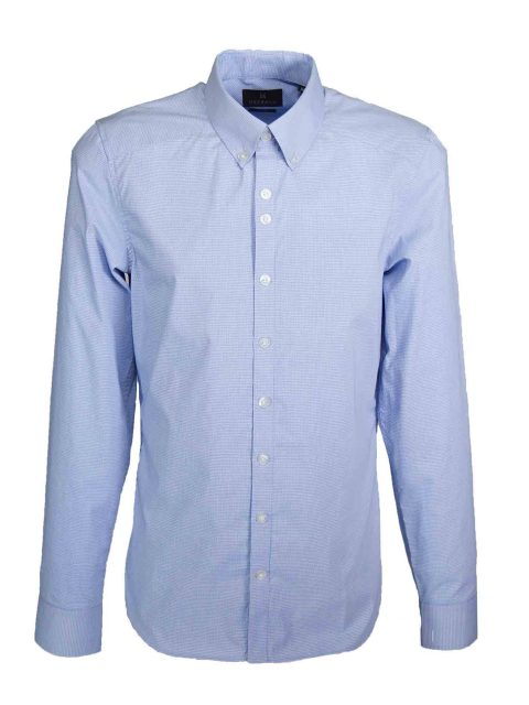 UBERMEN Blue Long Sleeve Shirt - LIBERATE