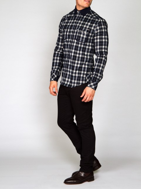 UBERMEN-BLUE-GRIZZLY-Brushed-Checked-Flannel-UMCSL162000309-2