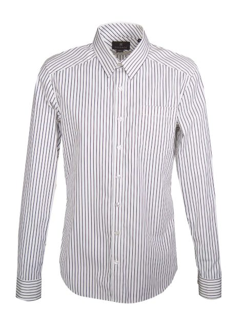 UBERMEN Black Stripe Long Sleeve Shirt - THICKE