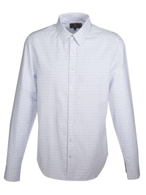 UBERMEN Blue Check Long Sleeve Shirt - CBD