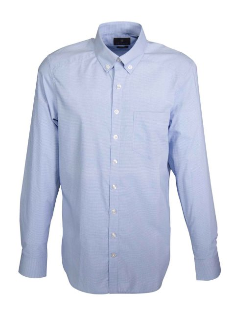 UBERMEN Check Cotton Long Sleeve Shirt - HYBRID