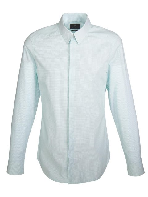 UBERMEN Green Check Long Sleeve Shirt - GRID