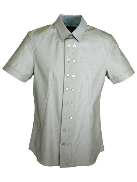 UBERMEN Green  Short Sleeve Shirt - JADE