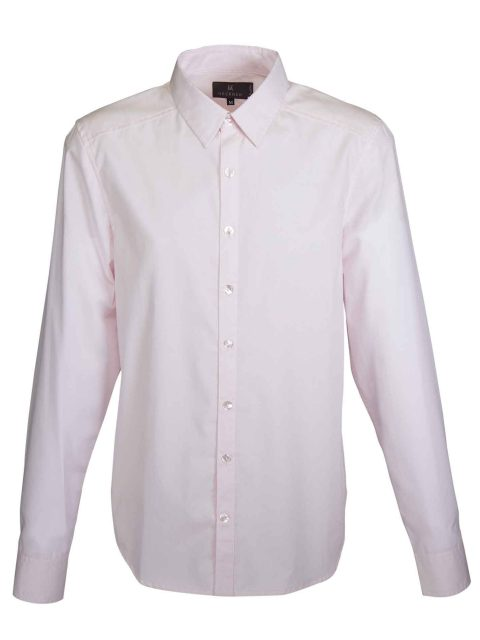 UBERMEN Pink Business Long Sleeve Shirt - EURASIAN