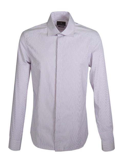 UBERMEN Purple  Long Sleeve Shirt - LOUNGE