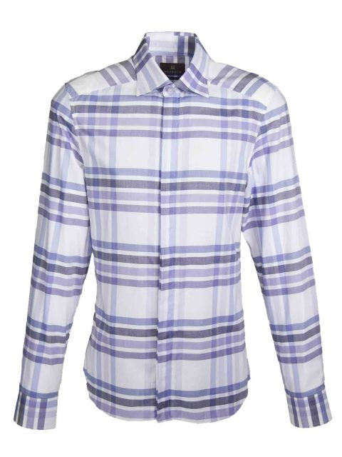 UBERMEN Purple  Long Sleeve Shirt - LUXURIATE
