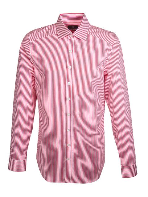UBERMEN Red Stripe Long Sleeve Shirt - BARBER