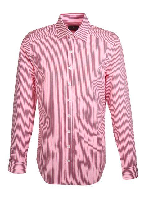 UBERMEN Red Stripe Long Sleeve Shirt - BARBER