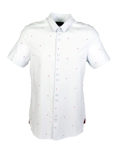 UBERMEN Sky Blue Short Sleeve Shirt - EDGE CACTUS
