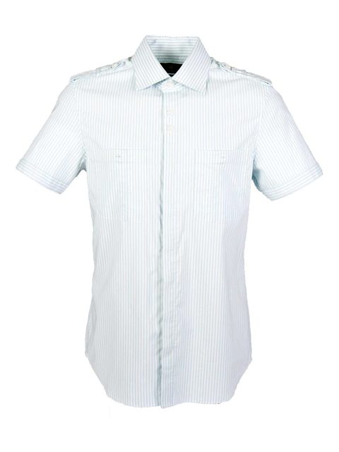 UBERMEN Sky Blue Short Sleeve Shirt - HARBOUR