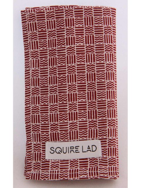 SQUIRE LAD - Artist Pocket Square-1