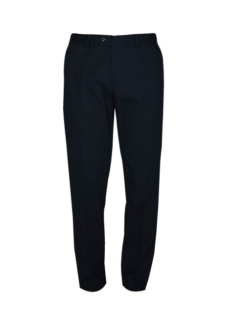 UBERMEN-Black-Cotton-Trousers---JET