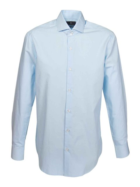 UBERMEN Blue Cut-Away Collar Business Shirt - ROUTINE
