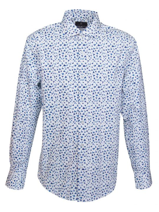 UBERMEN-Blue-Floral-Long-Sleeve-Shirt---YALE