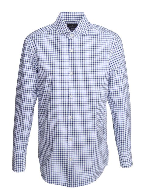 UBERMEN-Blue-Grid-Business-Long-Sleeve-Shirt---QUADRUPLICATE