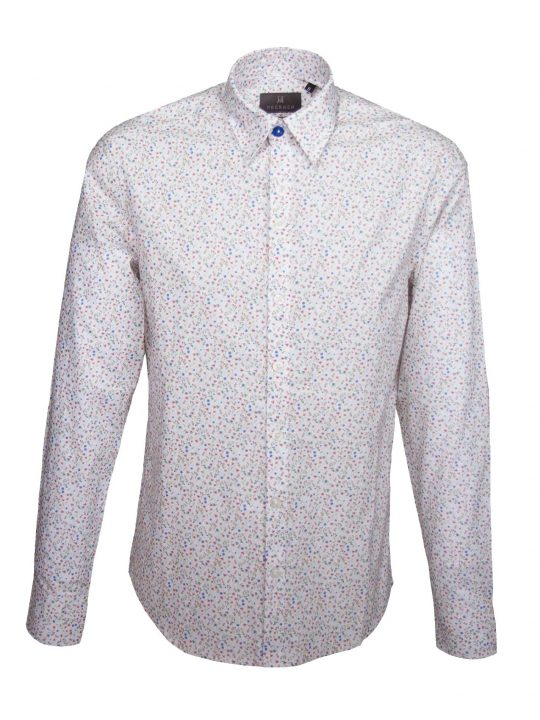 UBERMEN Floral Long Sleeve Shirt - CAMPION
