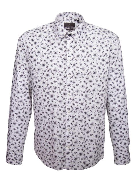 UBERMEN Floral Long Sleeve Shirt - CHAPLIN