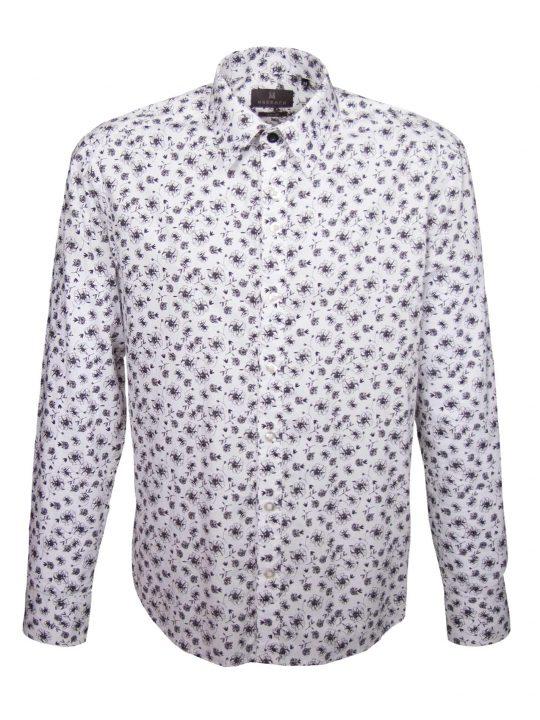 UBERMEN Floral Long Sleeve Shirt - CHAPLIN