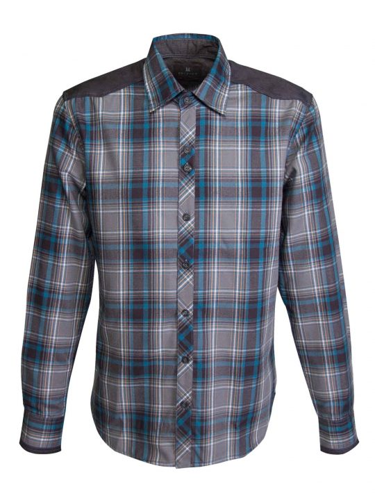 UBERMEN-Grey-Plaid-with-Contrast-Shoulders---SHADES