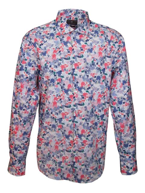 UBERMEN-Multi-Coloured-Floral-Long-Sleeve-Shirt---TAHBERT