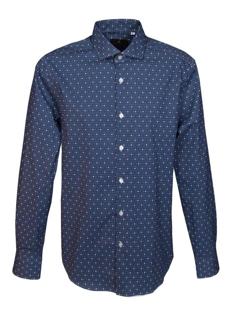 UBERMEN-Navy-Printed-Long-Sleeve-Shirt---ALTMAN