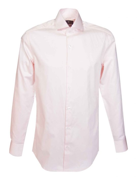 UBERMEN-Pink-Business-Shirt-with-Cut-away-Collar---LEONARDO