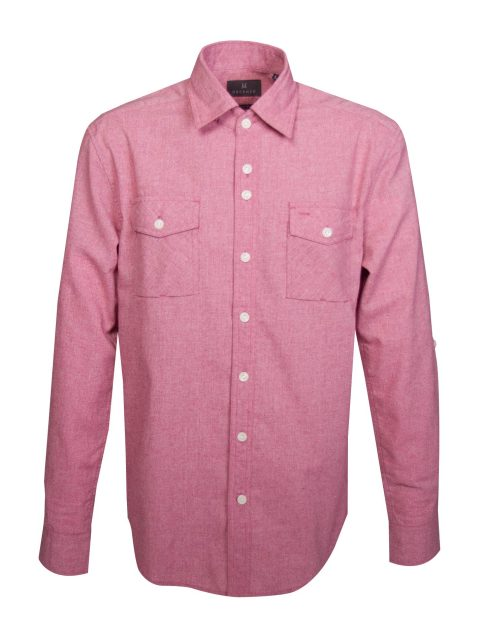 UBERMEN-Pink-Linen-Long-Sleeve-Shirt---Jerome