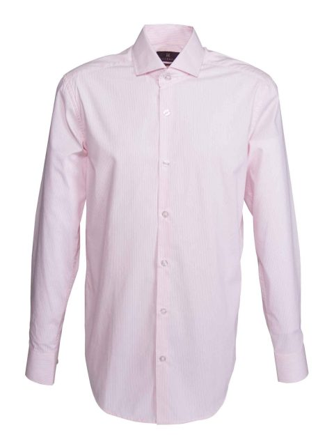 UBERMEN Pink Pin Stripe Business Shirt - MANFUL