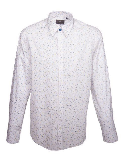 UBERMEN Printed Long Sleeve Shirt - MODDY WOODY