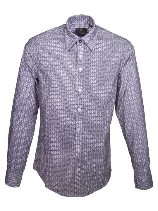 UBERMEN Printed Long Sleeve Shirt - THE MOSAIC