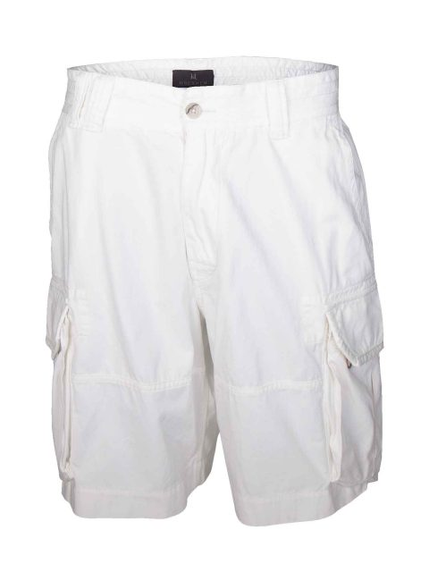 UBERMEN-White-Cargo-Shorts