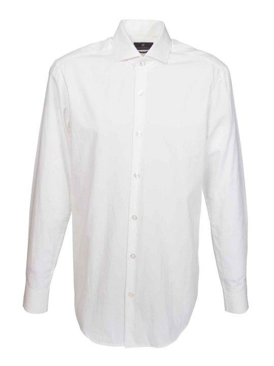 UBERMEN White Cut-Away Collar Business Shirt - PURE