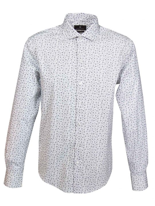 UBERMEN-White-Floral-Long-Sleeve-Shirt---WINDELL