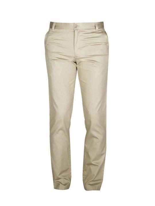 ubermen-beige-cotton-twill-trousers