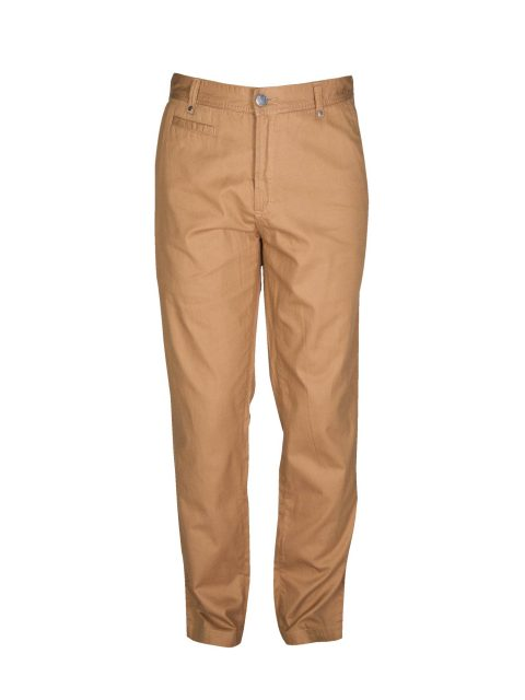ubermen-brown-twill-cotton-slim-chinos