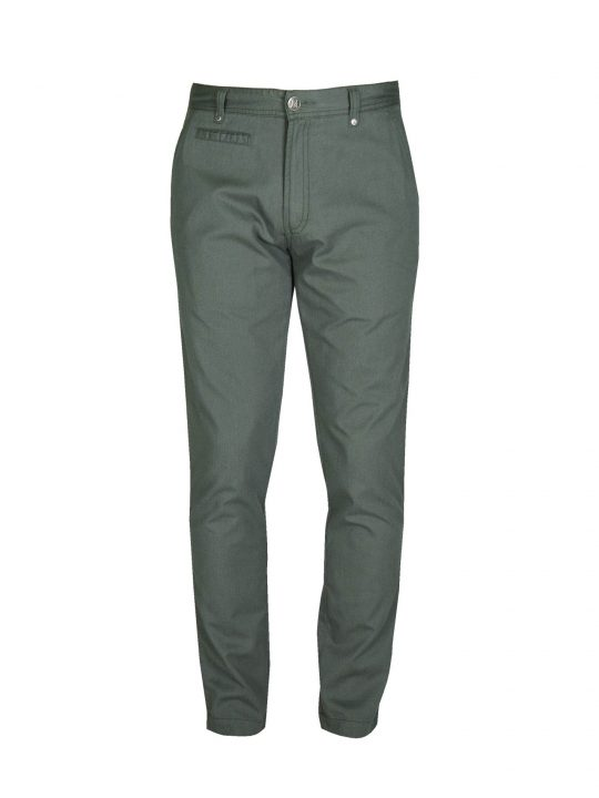 ubermen-green-cotton-twill-slim-fit-chinos
