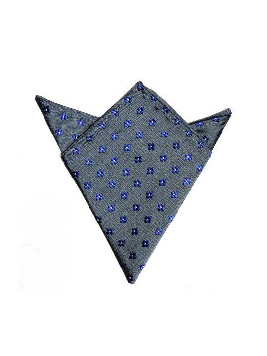 23-AUS-CUFFLINKS-POCKET-SQUARES-Grey-Blue-Flower-Pocket-Square-1