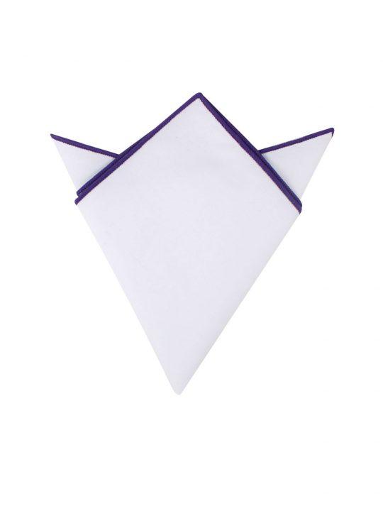 25-AUS-CUFFLINKS-POCKET-SQUARES-Purple-Edge-White-Pocket-Square-1