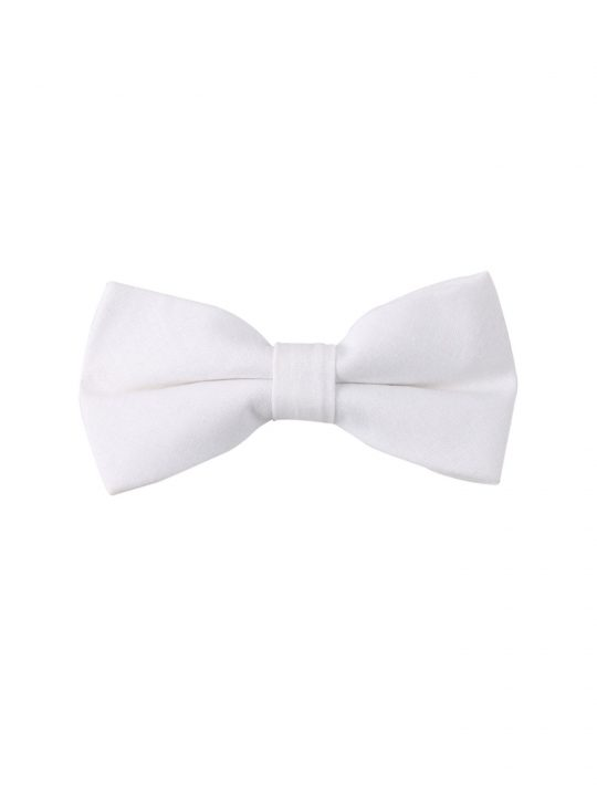 3-AUS-CUFFLINKS-BOWTIES-Classic-White-Bow-Tie-1