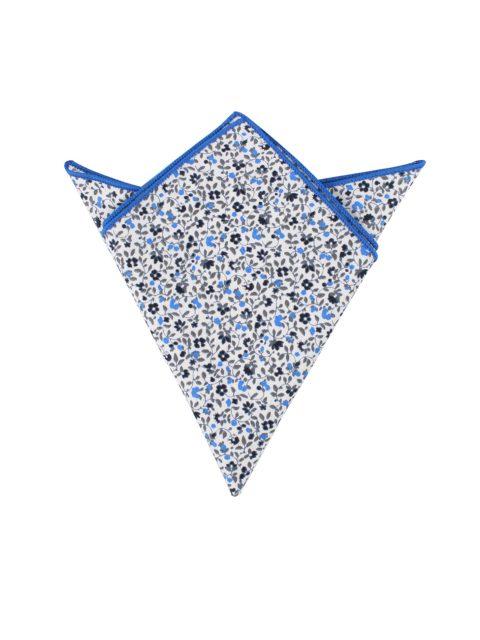 31-AUS-CUFFLINKS-POCKET-SQUARES-Black-Light-Blue-Leafy-Floral-Pocket-Square-1