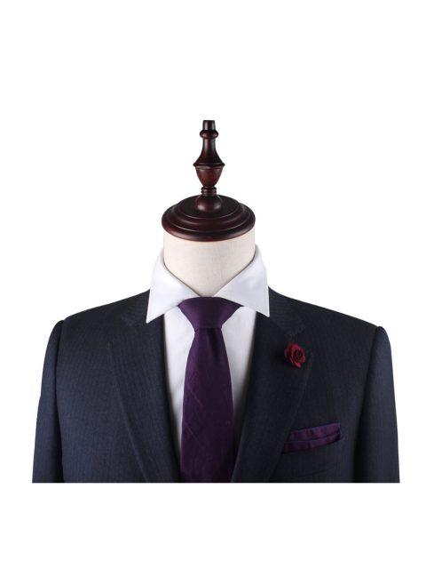35-AUS-CUFFLINKS-TIE-Dark-Purple-Ties-2