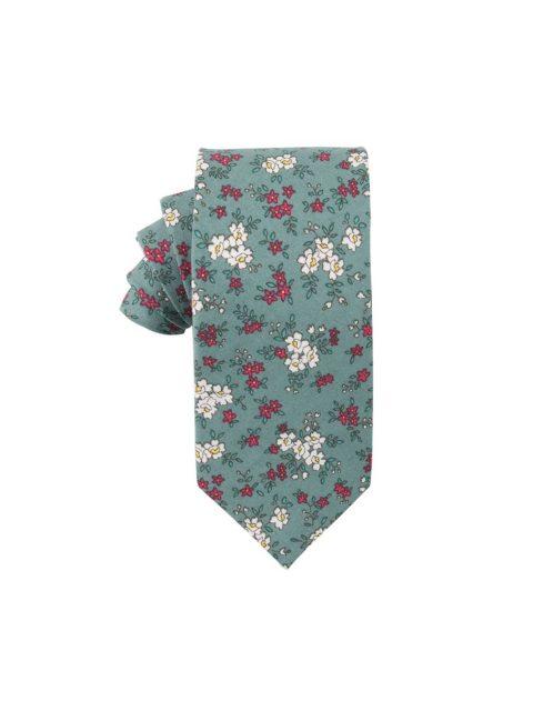 40-AUS-CUFFLINKS-TIES-Blue-White-Pink-Floral-Ties-1