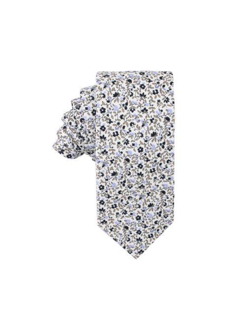 45-AUS-CUFFLINKS-TIES-Black-Print-Floral-Tie-1
