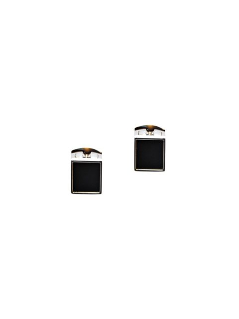 49-AUS-CUFFLINKS-CUFFLINK-BLACK-AND-SILVER