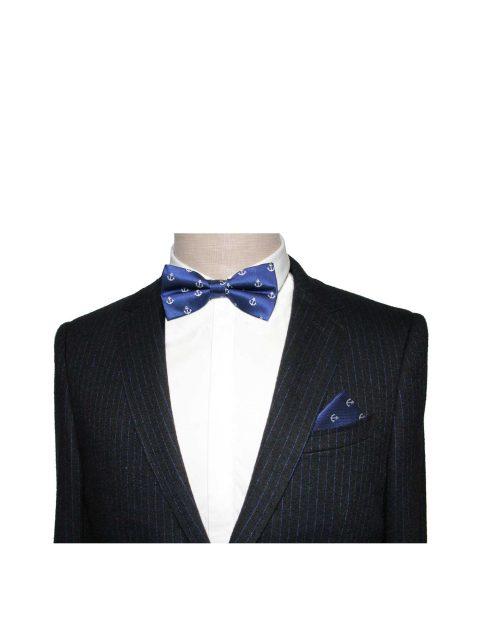 5-AUS-CUFFLINKS-BOWTIES-Blue-White-Anchor-Bow-Tie-2