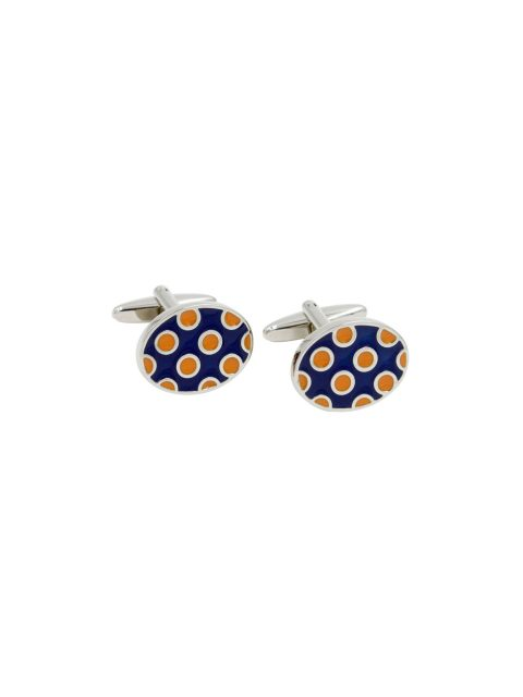 60-AUS-CUFFLINKS-CUFFLINK-Ladybug-Orange-Navy-Cufflinks-1
