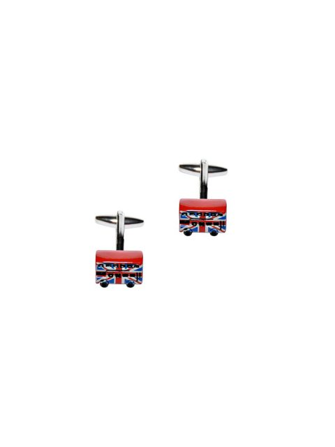 62-AUS-CUFFLINKS-CUFFLINK-London-Bus-Cufflinks