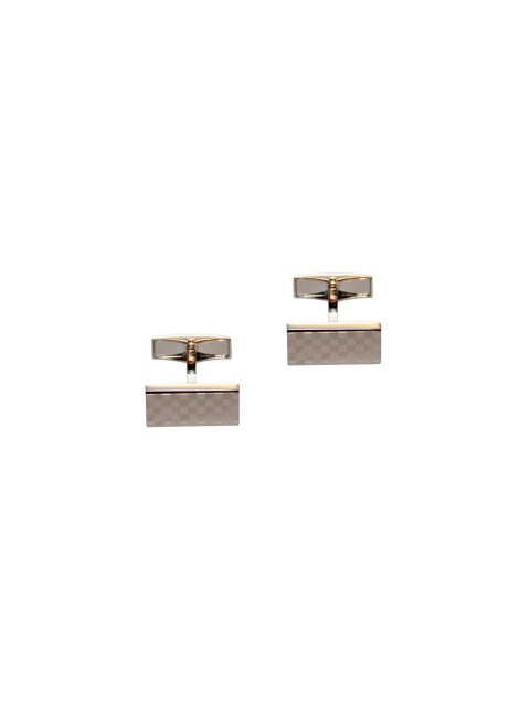 70-aus-cufflinks-cufflink-Silver-Checkered-Cufflinks-1
