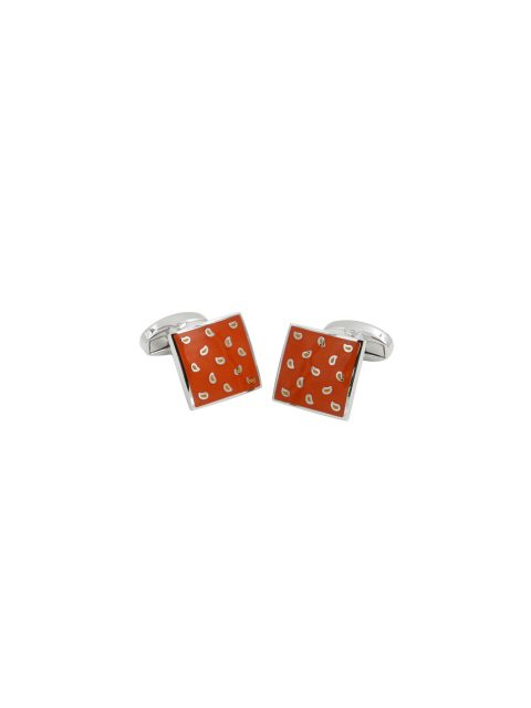 72-aus-cufflinks-cufflink-Tear-Drop-Orange-Cufflinks-1