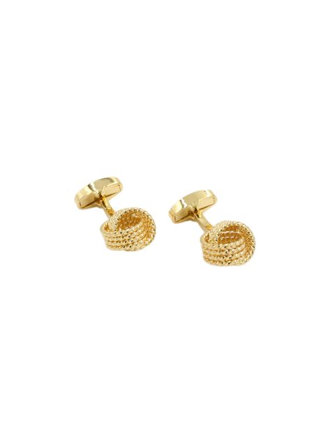73-AUS-CUFFLINKS-CUFFLINK-TEXTURED-Golden-Knot-Cufflinks-1
